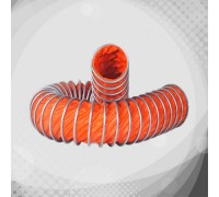 Вентиляційний термостійкий гофрорукав з гіпалона (К12)