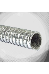 Високотемпературний повітровід з скловолокна зі сталевою сіткою (К9)