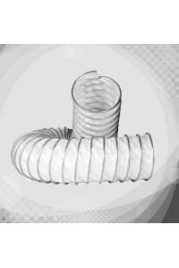 Вентиляційний термостійкий гофрорукав з поліетилену (ПЕ К6)