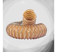 Вентиляційний термостійкий гофрорукав з тефлону В (К1-В)