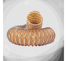 Вентиляционный термостойкий гофрорукав из тефлона В (К1-В)