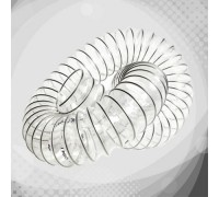 Прозорий поліуретановий повітропровід VULCANO PU ZR стінка 0,4мм